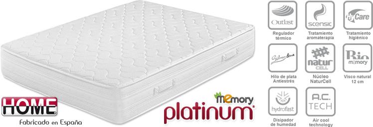 Colchón Memory Platinum