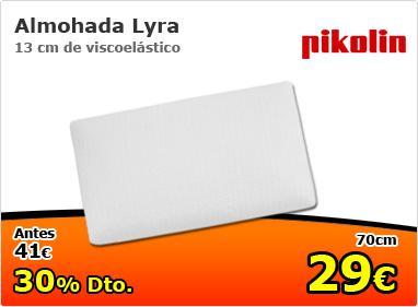 Almohada Lyra de Pikolin