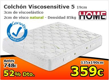 Colchón viscosensitive 5