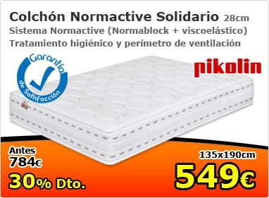 colchón Normactive solidario