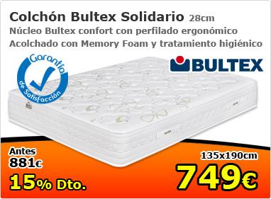 Colchón Bultex solidario