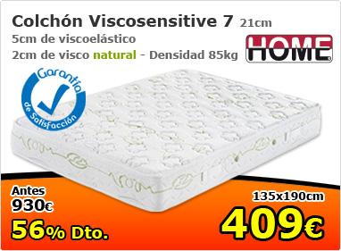 Colchón ViscoSensitive 7