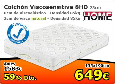 Colchón ViscoSensitive 8HD