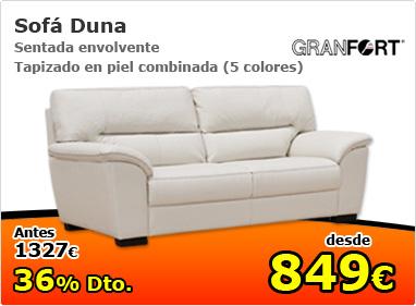 sofá duna