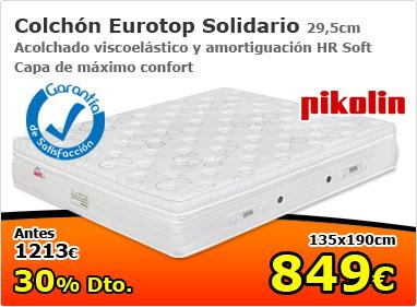 Colchón Eurotop Solidario