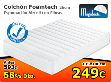 Colchón Foamtech 26