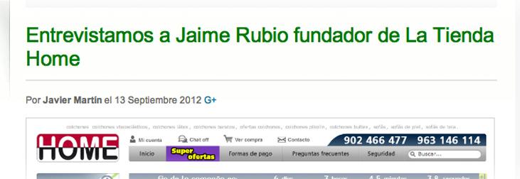 Entrevista a Jaime Rubio en Loogic