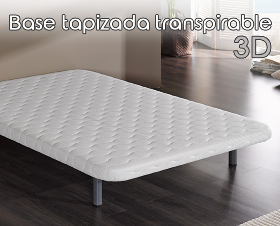 Base tapizada transpirable de HOME