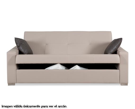 Sof cama de tela mine de home for Divan cama completo