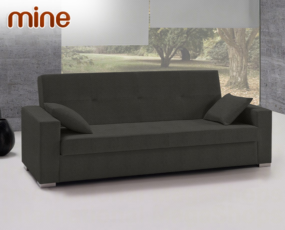 Sof cama de tela mine de home for Sofa cama catalogo