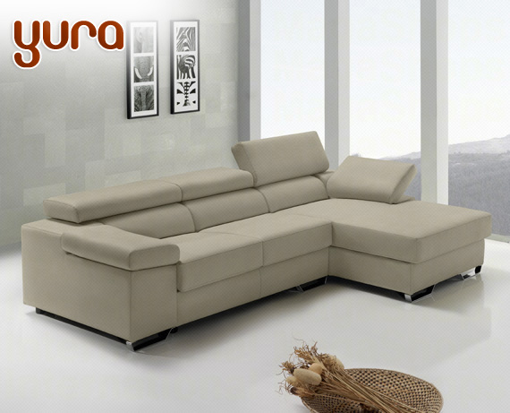 Sof de piel yura de home for Rebajas sofas de piel