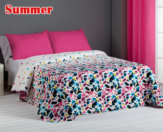 Colcha bouti reversible Summer de HOME