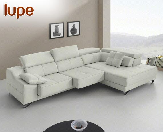 sof rinconera de ecopiel o microfibra lupe de home. Black Bedroom Furniture Sets. Home Design Ideas