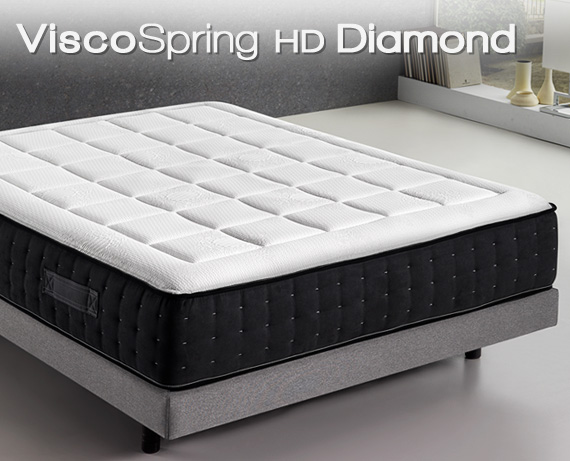 Colchón viscoelástico ViscoSpring HD Diamond de HOME