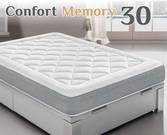 Colchón viscoelástico Confort Memory HD 30