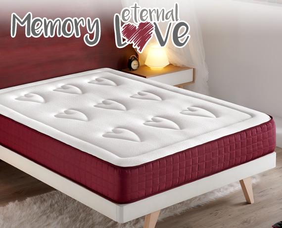 Colchón viscoelástico Memory Eternal Love