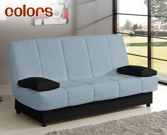 Sof cama libro colors de home for Sofa cama de libro