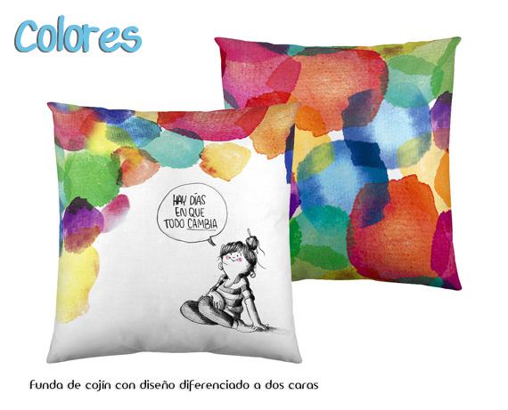 Cojines colores de la vol til la tienda home - Cojines de colores ...