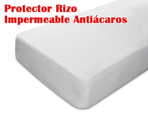 Protector de colch n rizo impermeable pp06 pikolin - Protector de colchon impermeable ...