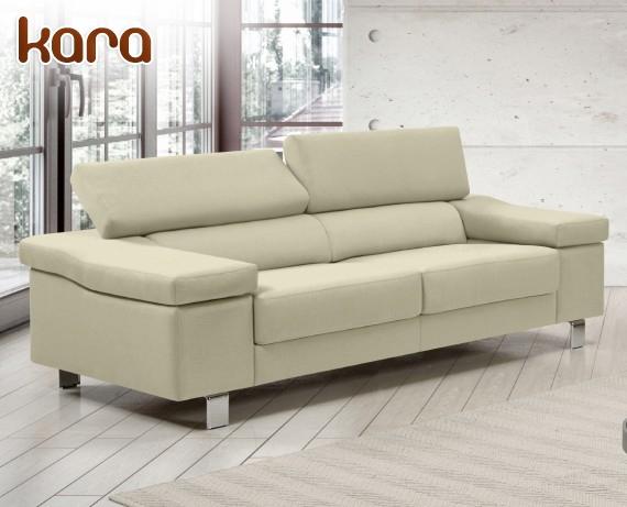 Sof de piel kara de home la tienda home for Rebajas sofas de piel