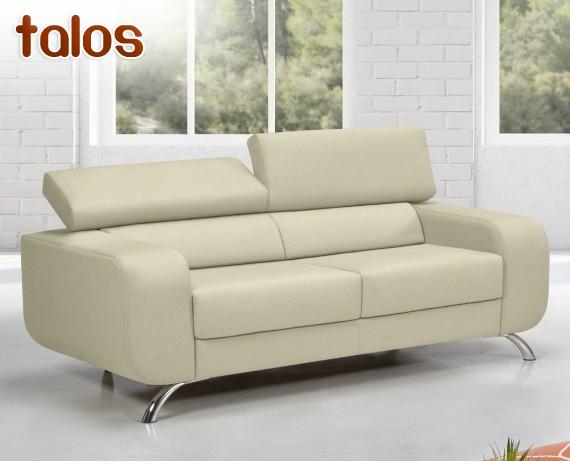 Sof de piel talos de home la tienda home for Rebajas sofas de piel