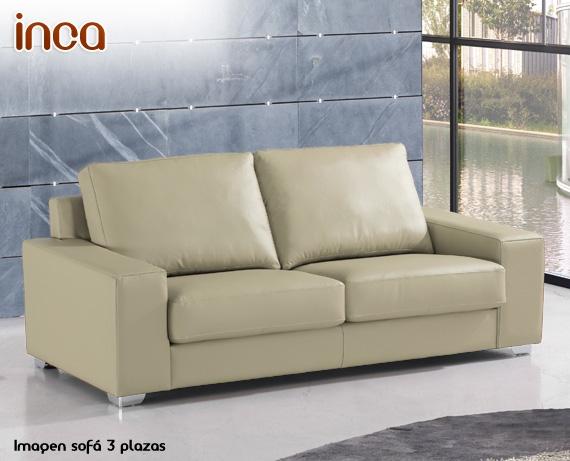 Sof chaise longue de piel inca de home - Marcas de sofas de piel ...
