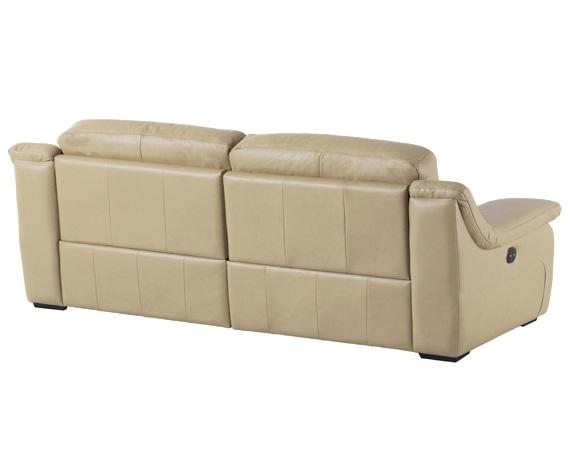 Sof de piel cooper de home for Liquidacion sofas piel
