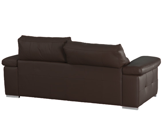Sof chaise longue de piel birmania de home for Liquidacion sofas piel