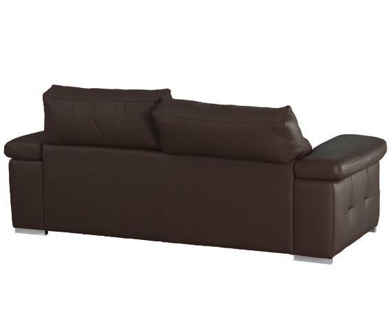 Sof chaise longue de piel birmania de home - Marcas de sofas de piel ...