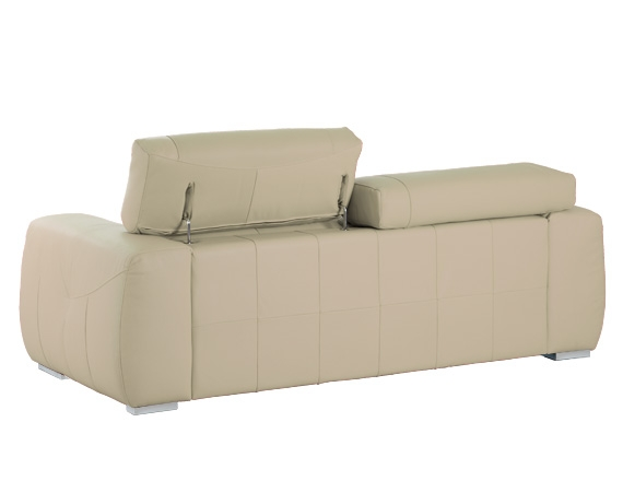 Sof chaise longue de piel roda de home for Liquidacion sofas piel